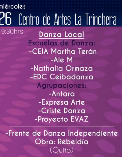 Danza Local | Escuelas de danza