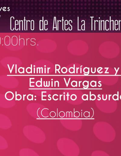 Vladimir Rodriguez y Edwin Vargas
